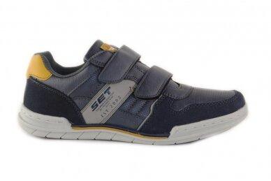Melsvi su lipukais laisvalaikio batai paaugliams