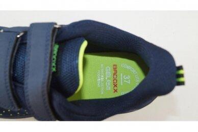 Mėlyni medžiaginiai su dviem lipukais Badoxx sportiniai bateliai 4