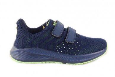 Mėlyni medžiaginiai su dviem lipukais Badoxx sportiniai bateliai