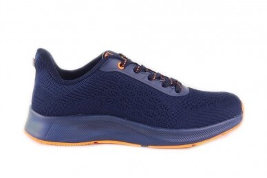 Mėlyni medžiaginiai suvarstomi Badoxx vyriški sportiniai bateliai 8215