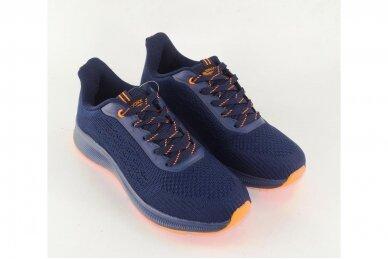 Mėlyni medžiaginiai suvarstomi Badoxx vyriški sportiniai bateliai 8215 3