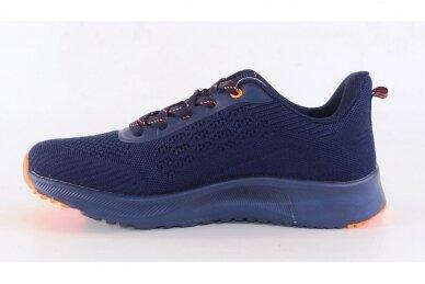 Mėlyni medžiaginiai suvarstomi Badoxx vyriški sportiniai bateliai 8215 2