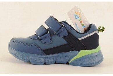 Mėlyni su lipukais Beesky sportiniai bateliai berniukams 8991 2