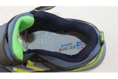 Mėlyni su lipukais Beesky sportiniai bateliai berniukams 8991 4