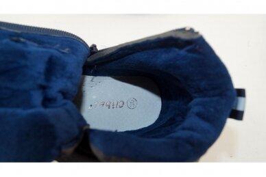 Mėlyni su lipuku suvarstyti gumyte Clibee aulinukai berniukams 8648m 4