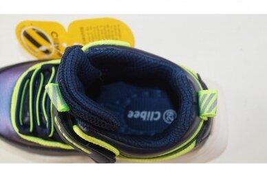 Mėlyni su lipuku suvarstyti gumyte Clibee sportiniai bateliai berniukams 7950 4