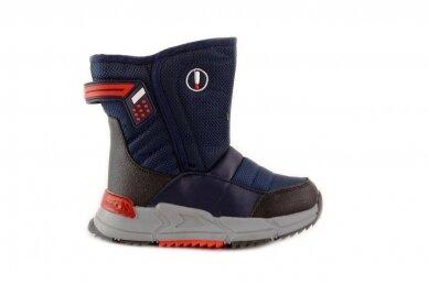 Mėlyni su užtrauktuku šone Tom.m žieminai batai berniukams su vilnos kailiu 9614 2