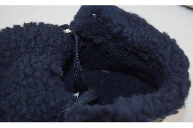 Mėlyni suvarstomi ArrigoBelo vyriški žieminiai sportiniai batai su vilnos kailiu 4
