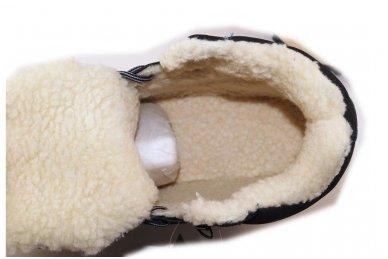 Mėlyni suvarstomi sportiniu padu Ax-Boxing vyriški žieminiai batai 7445 4