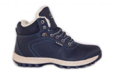 Mėlyni suvarstomi sportiniu padu Ax-Boxing vyriški žieminiai batai 7445