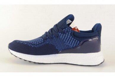 Mėlyni tekstiliniai sportiniai bateliai paaugliams 2134 2