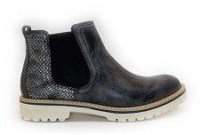 Pilkšvi su gumom šviesiu padu be pašiltinimo sezoniniai moteriški batai