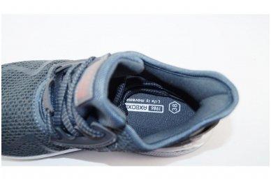 Pilki lengvučiai medžiaginiai suvarstomi naujo dizaino AxBoxing sportiniai bateliai 4