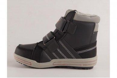 Pilki su lipdukais su pašiltinimu laisvalaikio batai berniukams 2