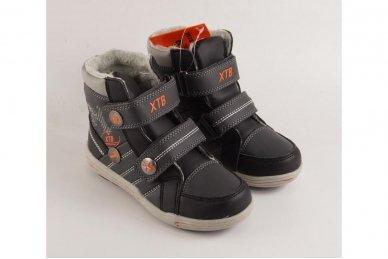 Pilki su lipdukais su pašiltinimu laisvalaikio batai berniukams 3