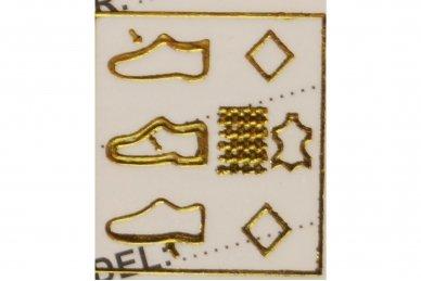 Pilki+geltoni baltu storu padu suvarstomi AxBoxing sportiniai bateliai paaugliams 5