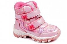 Ružavi su lipukais Weestep žieminiai termo batai mergaitėms 7217