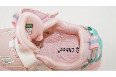 Ružavi su lipukais Clibee sportiniai bateliai mergaitėms 7312 4