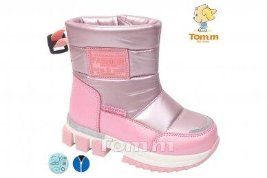 Ružavi su užtrauktuku šone Tom.m sniego batai mergaitėms su vilnos kailiu 7700r