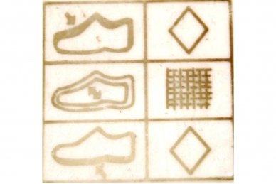 Ružavi užsegami lipduku suvarstyti gumyte papuošti širdele Clibee sportiniai batai mergaitėms 5