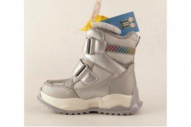 Sidabriniai su lipukais Tom.m žieminai batai mergaitėms su vilnos kailiu 9588 3