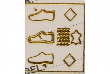 Sidabriniai su lipuku suvarstyti gumyte Bessky sportiniai bateliai mergaitėms 1108 5
