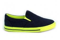 Tekstiliniai sportiniai bateliai mėlyni 1082m