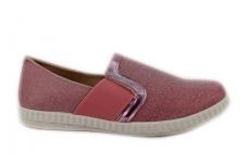 Violetiniai tekstiliniai sportiniai bateliai 8481v