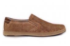 Šviesūs su skylutėmis sportiniu padu įspiriami laisvalaikio batai vyrams Meko Melo