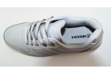 Šviesiai pilki suvarstomi Badoxx moteriški sportiniai bateliai 7626 4