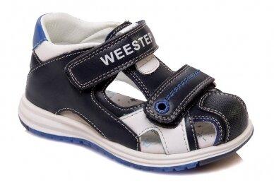 Uždaru priekiu su dviem lipukuais Weestep basutės berniukams 50006