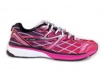 Violetiniai-ružavi suvarstomi moteriški sportiniai bateliai