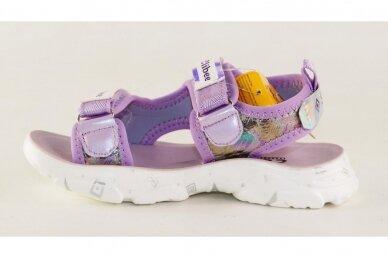 Violetinės baltu padu su dviem lipukais Clibee basutės mergaitėms 7857 2