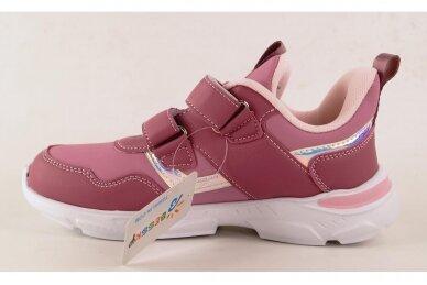 Violetiniai su lipukais Bessky sportiniai bateliai mergaitėms 4256 2