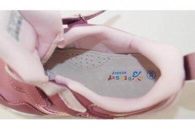 Violetiniai su lipukais Bessky sportiniai bateliai mergaitėms 4256 4