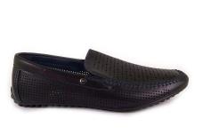 Juodi skylėti Meko Melo vyriški batai vasarai 1732
