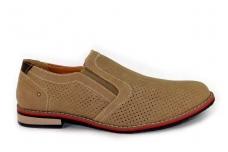 Šviesūs skylėti vyriški batai įmaunami vasarai 7061sv